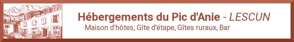 Les Hébergements du Pic D'Anie à LESCUN(64)